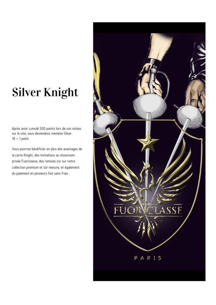 silver knight fuoriclasse